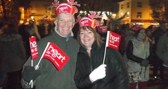 Heart Angels: Barnstaple Christmas Lights 2015