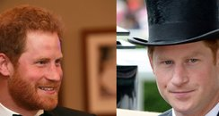 Prince Harry hipster vs clean shaven canvas