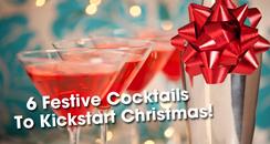 Kickstart Christmas Cocktails