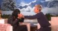 Sia and Ellen DeGeneres