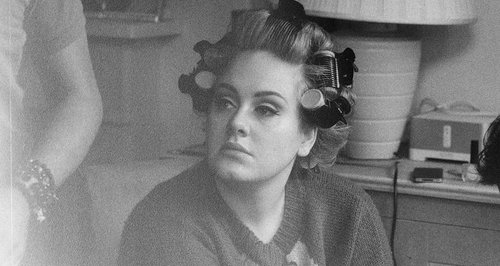 adele beauty hair rollers pinterest