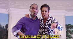 Michelle Obama rapping 1