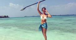 millie mackintosh paddle board instagram