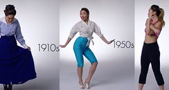 fashion fitness through the years youtube