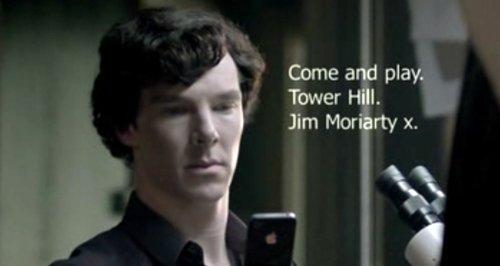 Sherlock texting