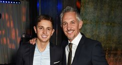 Gary Lineker and George Lineker