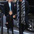 Harper Beckham David Beckham dinner in New York