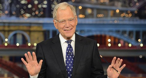 David Letterman The Late show