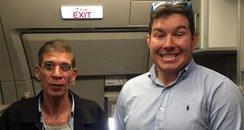 Egypt Air hijack selfie