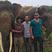 19. Leonardo DiCaprio visits elephant conservation.