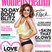 13. Caroline Flack shows off her new toned figure on the front of Women's Health magazine.