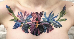 Rit Kit Plant Transfer Flowers Tattoo