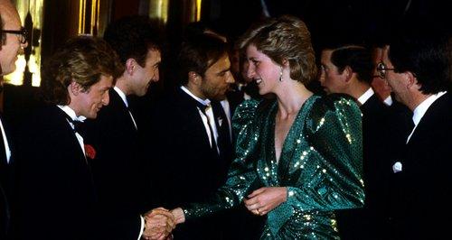 Princess Diana Green dress