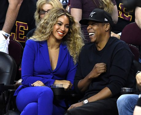 Beyonce and Jay-Z at the 2016 NBA Finals - Best Celebrity ...
