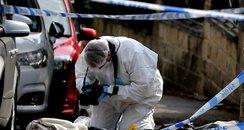 Jo Cox Crime Scene in Birstall
