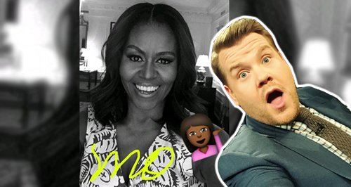 Michelle Obama snapchat canvas