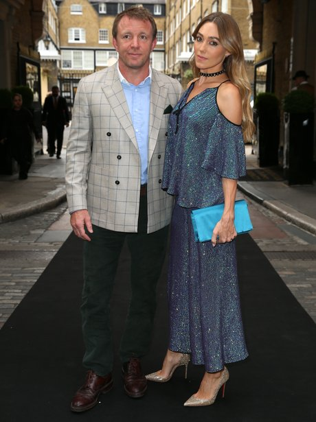 Guy Ritchie Jackie Ainsley Old Vic summer party