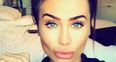 Lauren Goodger lips pout instagram selfie