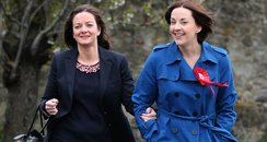 Kezia and partner louise
