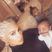 3. Kim Kardashian Sports Platinum Blonde Hair In Adorable Family Selfie
