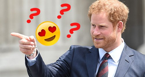 prince harry texting actress