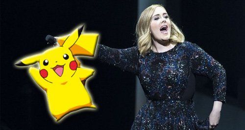 Adele pokemon canvas
