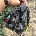 Crash impact: helmet saved boy's life