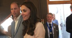 William and Kate visit Young People Cornwall