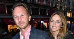 geri and christian horner in london