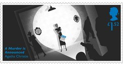 Agatha Christies 126th Birthday stamps