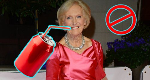 Mary Berry fizzy drinks ban