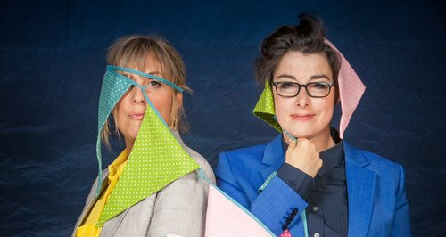 Mel Giedroyc and Sue Perkins Bake Off