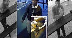 CCTV of men police want to speak to over Brighton