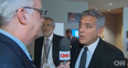 George Clooney interview with CNN