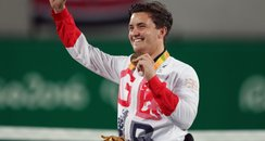 Gordon Reid celebrates winning gold