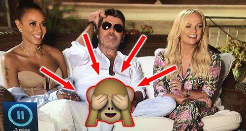 Oo-er! X Factor Viewers SHOCKED After Simon's Naug
