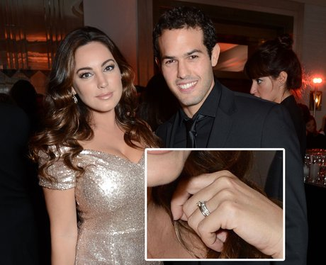 Kelly Brook 'wedding ring'