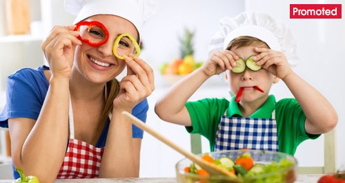 Children cooking kitchen craft baking promo