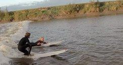Kingsurf instructor proposes on wave
