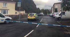 Knightswood scene of double attempted murder