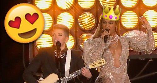 Beyonce CMA Performance