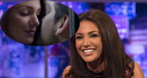 Michelle Keegan Our Girl kiss and Jonathan Ross
