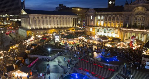 Birmingham Christmas Markets 2016