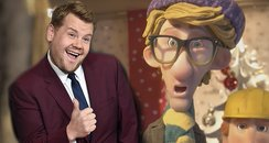 James Corden In Sainsbury's Musical Christmas Adve