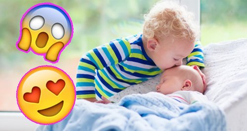 video brother catches baby family parenting