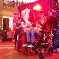 Castle Mall Christmas Lights 2016