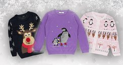 kids christmas jumpers canvas