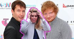 James Blunt Ed Sheeran Princess Beatrice sword