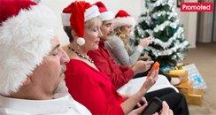 Boring Christmas party santa family games promo ta