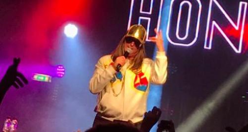 Honey G performance at GAY